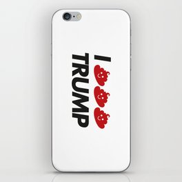 I CACA TRUMP iPhone Skin