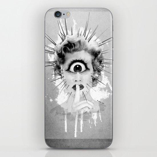 Shhh… Redux iPhone & iPod Skin