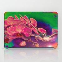 hummingbird iPad Cases featuring Hummingbird by Ganech joe