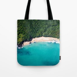 Turquoise Beach Tote Bag