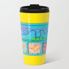 Sprinkle Party Metal Travel Mug