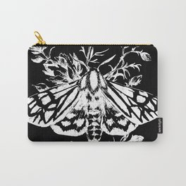 butterfly black Carry-All Pouch