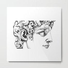 MONO DAVID Metal Print