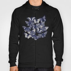 butterfly pale coral Hoody