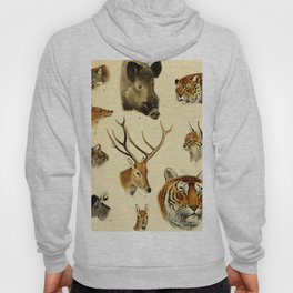 The Great and Small Game of Europe, Western and Northern Asia and America Hoody