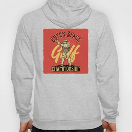 Outer Space Golf Championship Hoody