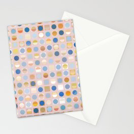Circles and Squares 2 Stationery Cards