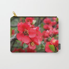 JAPANESE QUINCE Carry-All Pouch