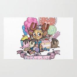 cotton candy prince Rug
