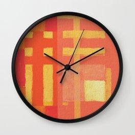 Urban Intersections 1 Wall Clock