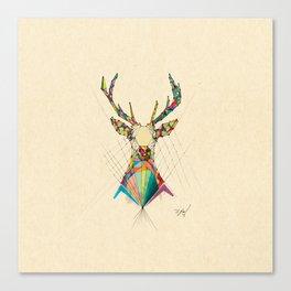 Illustrated Antelope Canvas Print