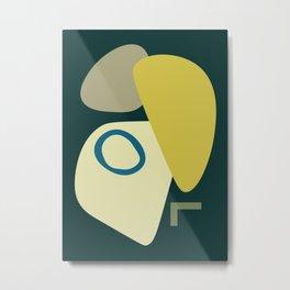 Abstract No.9 Metal Print