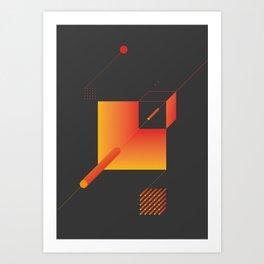 Geometric Composition 9 Art Print