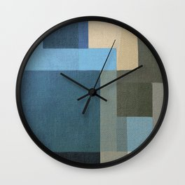 Fifty Shades Of Any Color Wall Clock