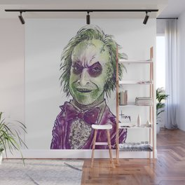 The Ghost with the Most Wall Mural