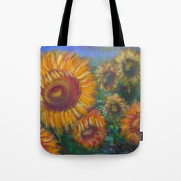 Vesper Sunflowers Tote Bag