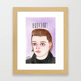 Bitchin' Eleven Framed Art Print
