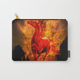 Wild Fire Horse Fantasy Carry-All Pouch