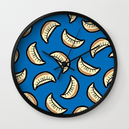 Gyoza Dumpling Pattern Wall Clock