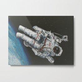 Space Dude Metal Print