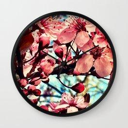 PINK PONG Wall Clock