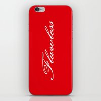 flawless iPhone & iPod Skins featuring FlawlesS  by 2sweet4words Designs