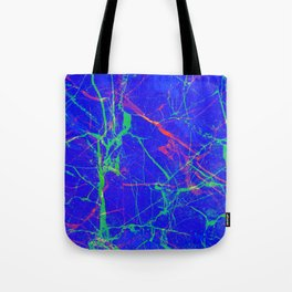 Life In Your Veins Tote Bag