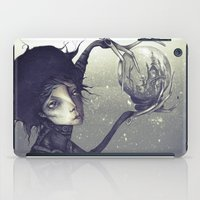 edward scissorhands iPad Cases featuring Edward Scissorhands by Antonio Lorente