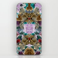 crystal iPhone & iPod Skins featuring Crystal by Joanna Tadger