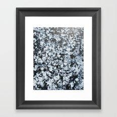 untitled (4456 bklack and white) Framed Art Print
