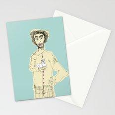 Gato y picazón Stationery Cards