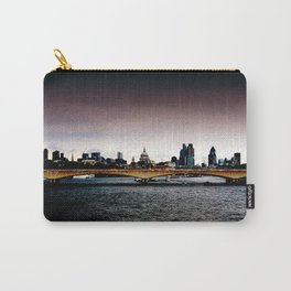 London over the Waterloo Bridge Carry-All Pouch