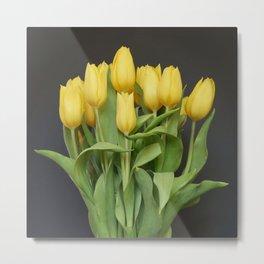 Tulips by the Dozen Metal Print