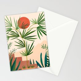 Weekend in Mojave / Desert Landscape Stationery Cards