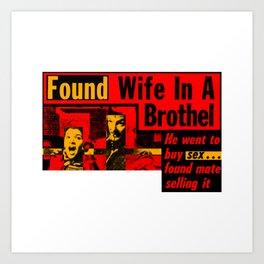 Found! Art Print