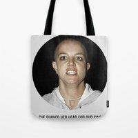 She Shaved Her Head For Our Sins Tote Bag