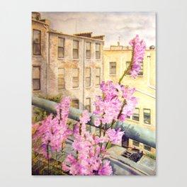 Urban Beauty Canvas Print