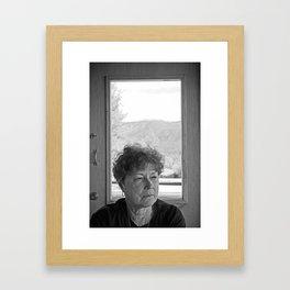 KE Study 1 Framed Art Print
