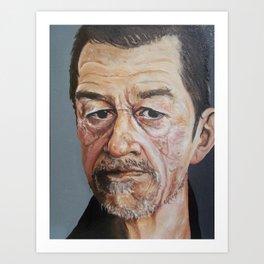 John Hurt Art Print