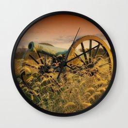 Antique Field Canon Wall Clock