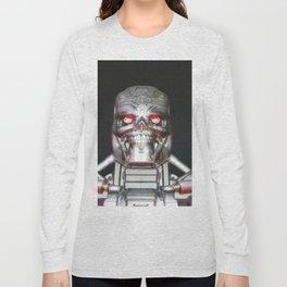 Me, Robot Long Sleeve T-shirt