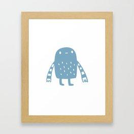 Cuddle Monster Framed Art Print