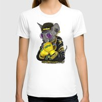 hiphop T-shirts featuring Boxing Cat 3 by Tummeow