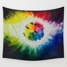 rainbow burst Wall Tapestry
