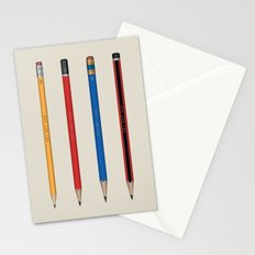Art not War - Pencils Stationery Cards