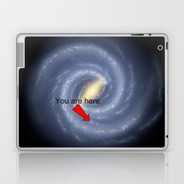You are Here (improved version) Laptop & iPad Skin