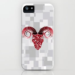 Aries Solid iPhone Case