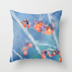 cool orange Throw Pillow
