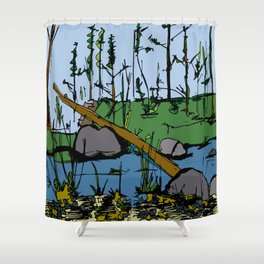 Greenwood Shower Curtain