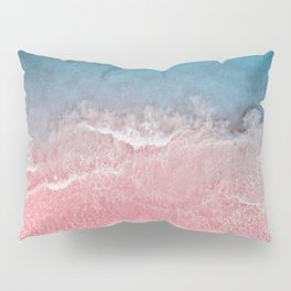 Bahamas pink blue Pillow Sham